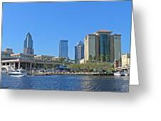 Downtown Tampa-2 Greeting Card