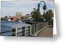 Downtown Wilmington Greeting Card