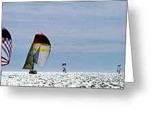 Downwind Greeting Card