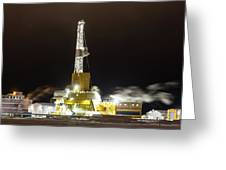 Doyon Drilling Rig And Camp Greeting Card