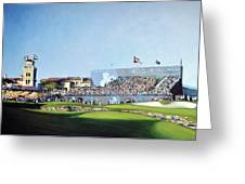 Dp World Tour Championship 2015 - Open Edition Greeting Card
