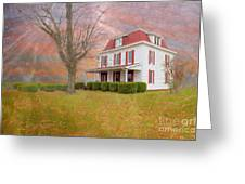 Dr Claude T. Old House Greeting Card