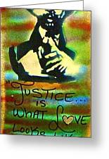 Dr. Cornel West Justice Greeting Card