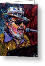 Dr. John Portrait Greeting Card