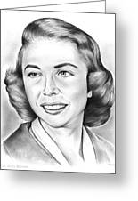 Dr. Joyce Brothers Greeting Card