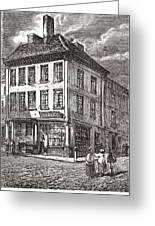 Dr. Samuel Johnson S Birthplace In Greeting Card