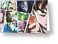 Jiren Greeting Card