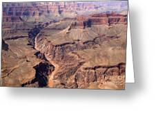 Dragon Corridor Grand Canyon Greeting Card