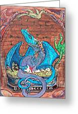 Dragon Family Greeting Card