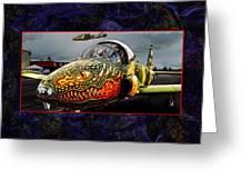 Dragon Jet Greeting Card