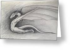 Dragon Man Greeting Card