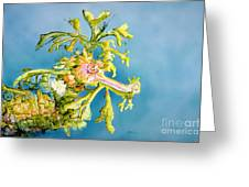 Dragon Of The Sea Greeting Card by Tanya L Haynes - Printscapes