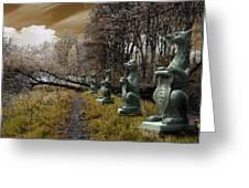 Dragon Road 054 Greeting Card