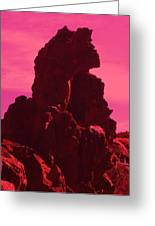 Dragon-rock Greeting Card by Ramon Labusch