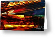 Dragon Scales Greeting Card