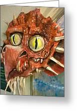 Dragon Sculpture Greeting Card