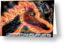 Dragon Slayer Greeting Card by Cheri Doyle