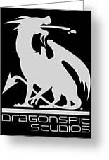 Dragon Spit Studios Logo Greeting Card