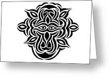 Dragon Warrior Greeting Card