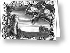 Dragon Whisperer  Greeting Card
