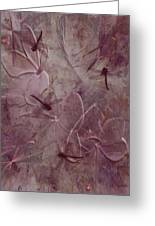 Dragonflies Greeting Card by Jean Gugliuzza