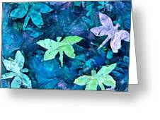 Dragonfly Blues Greeting Card