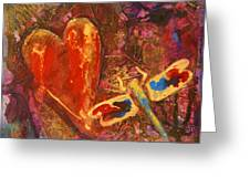 Dragonfly Heart Greeting Card