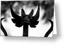 Dragons Gate Greeting Card