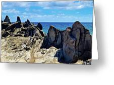 Dragons Teeth Greeting Card