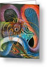 Dragons Three Greeting Card
