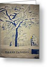 Drake Snow Greeting Card