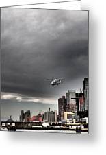 Drama In The City 3 Greeting Card