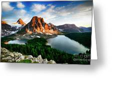 Drama Of The Canadian Rockies 3 Greeting Card