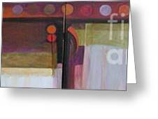 Drama Too Diptych Greeting Card