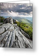 Dramatic Blue Ridge Mountain Scenic Greeting Card