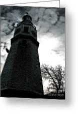 Dramatic Lighthouse Greeting Card