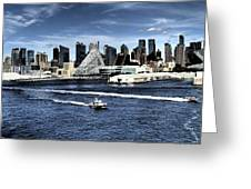 Dramatic New York City Greeting Card