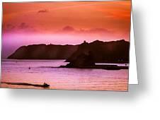 Dramatic Seascape Greeting Card