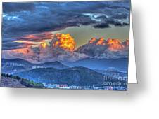 Dramatic Sky And Clouds Greeting Card