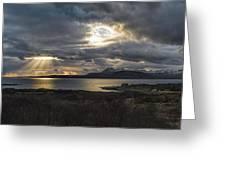 Dramatic Skye Greeting Card