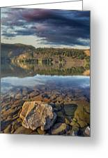 Drano Lake In Washington State Greeting Card