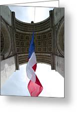 Drapeau Francais Greeting Card