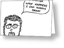 Drawing Comic Greeting Card