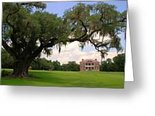 Drayton Hall Plantation Charleston Greeting Card