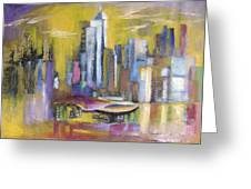Dream City No.5 Greeting Card
