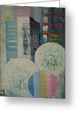 Dream City No.8 Greeting Card