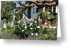 Dream Cottage In Laguna Greeting Card