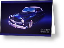 Dream Cruise Convertible Greeting Card