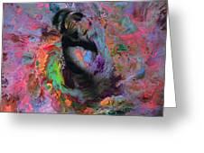 Dream Dancer Art  Greeting Card