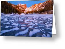 Dream Lake Dimples Greeting Card